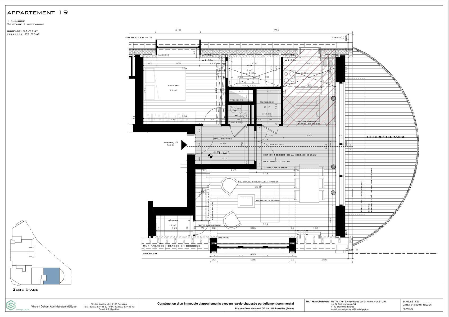 Appartement - Evere - #3999441-1