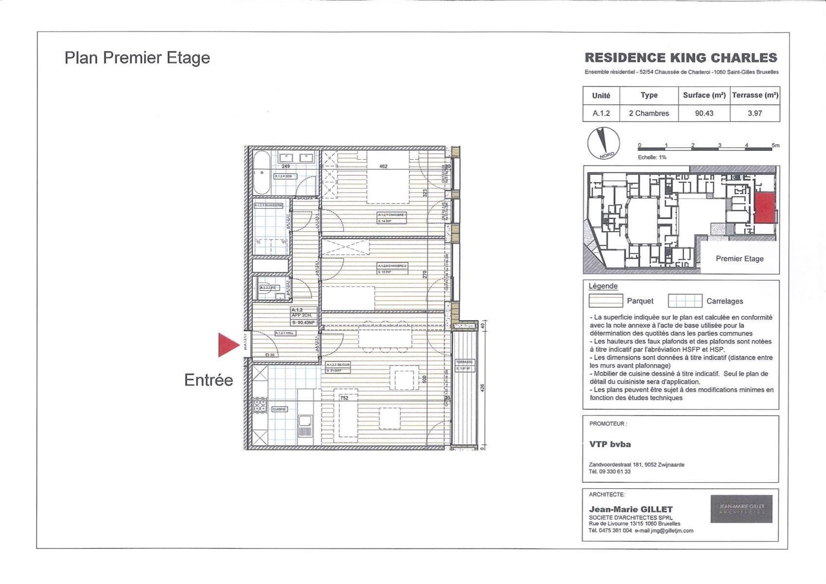 Appartement - Saint-Gilles - #3999447-0