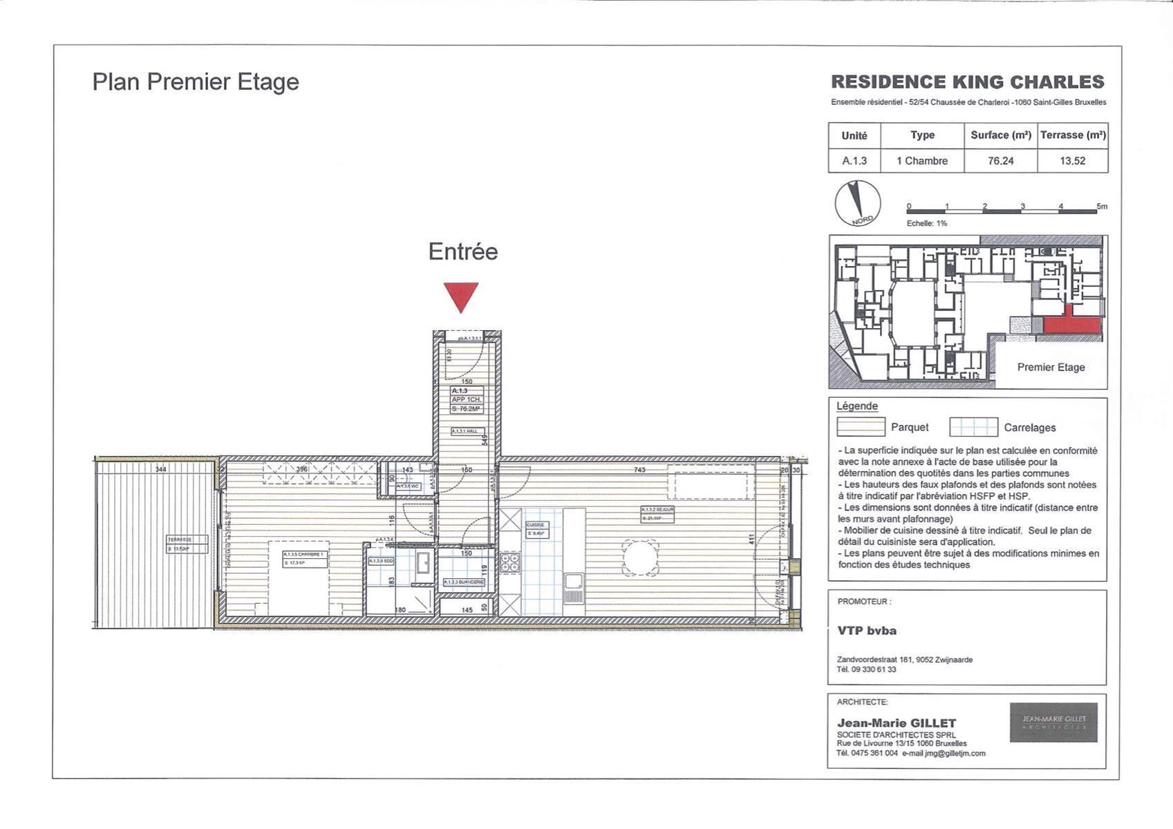 Appartement - Saint-Gilles - #3999448-0