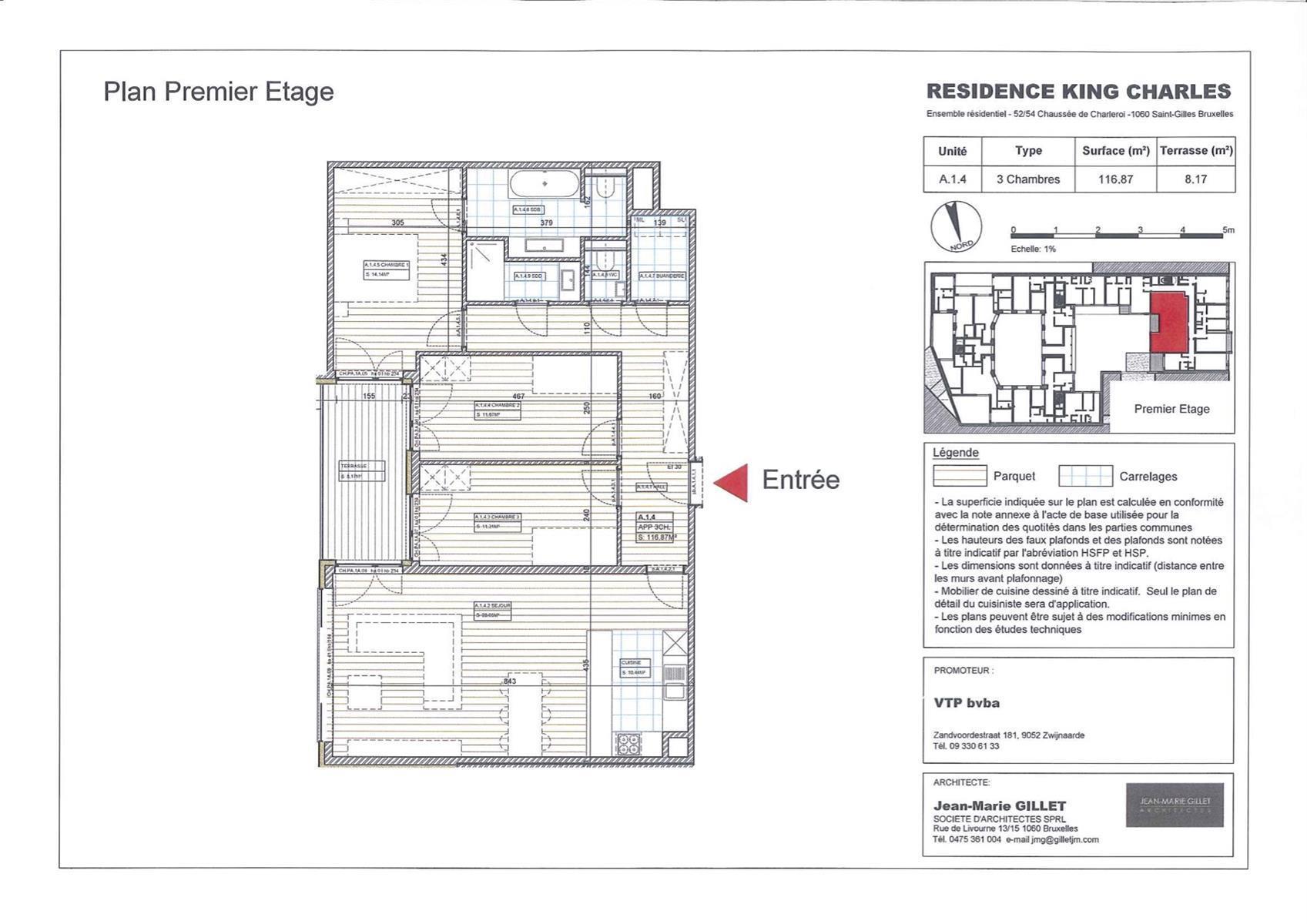 Appartement - Saint-Gilles - #3999449-0