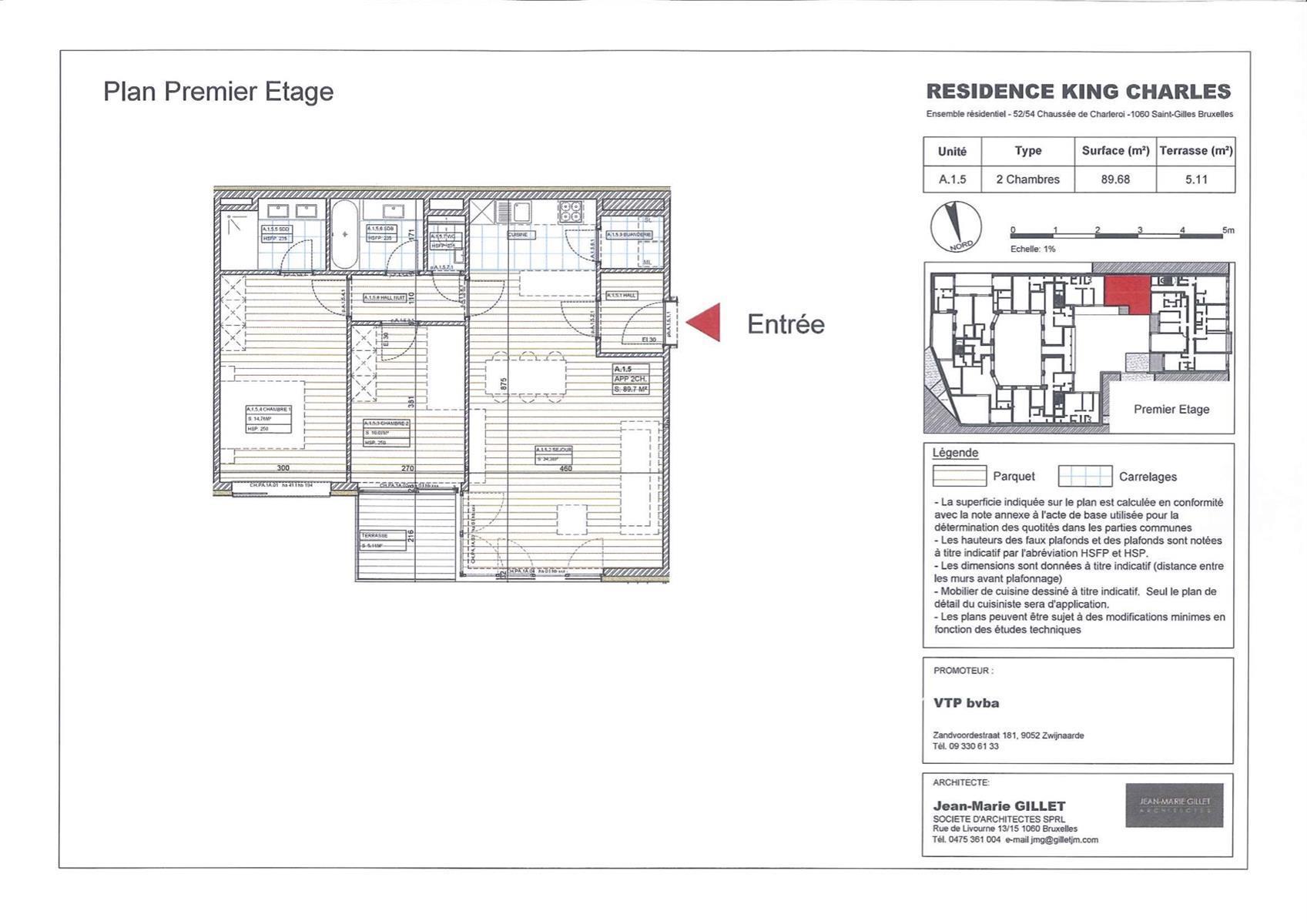 Appartement - Saint-Gilles - #3999450-0