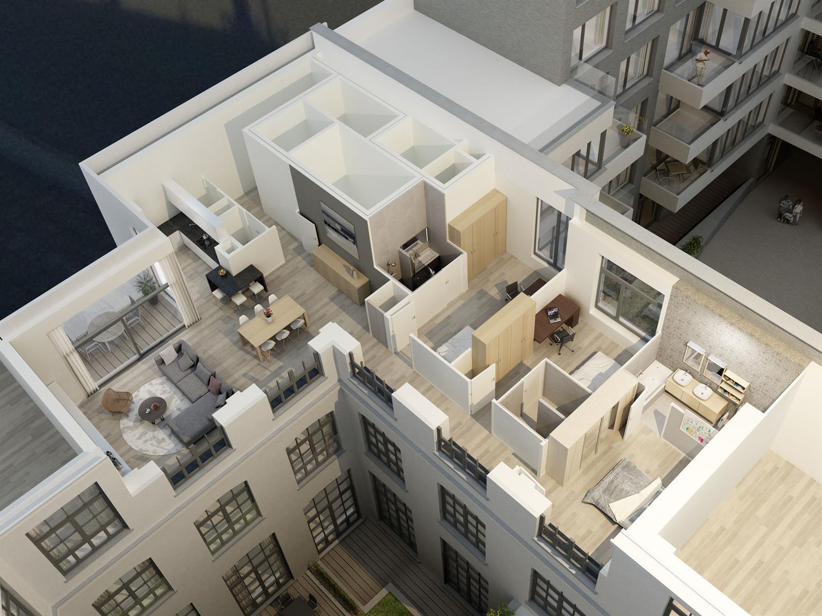 Appartement - Saint-Gilles - #3999454-5