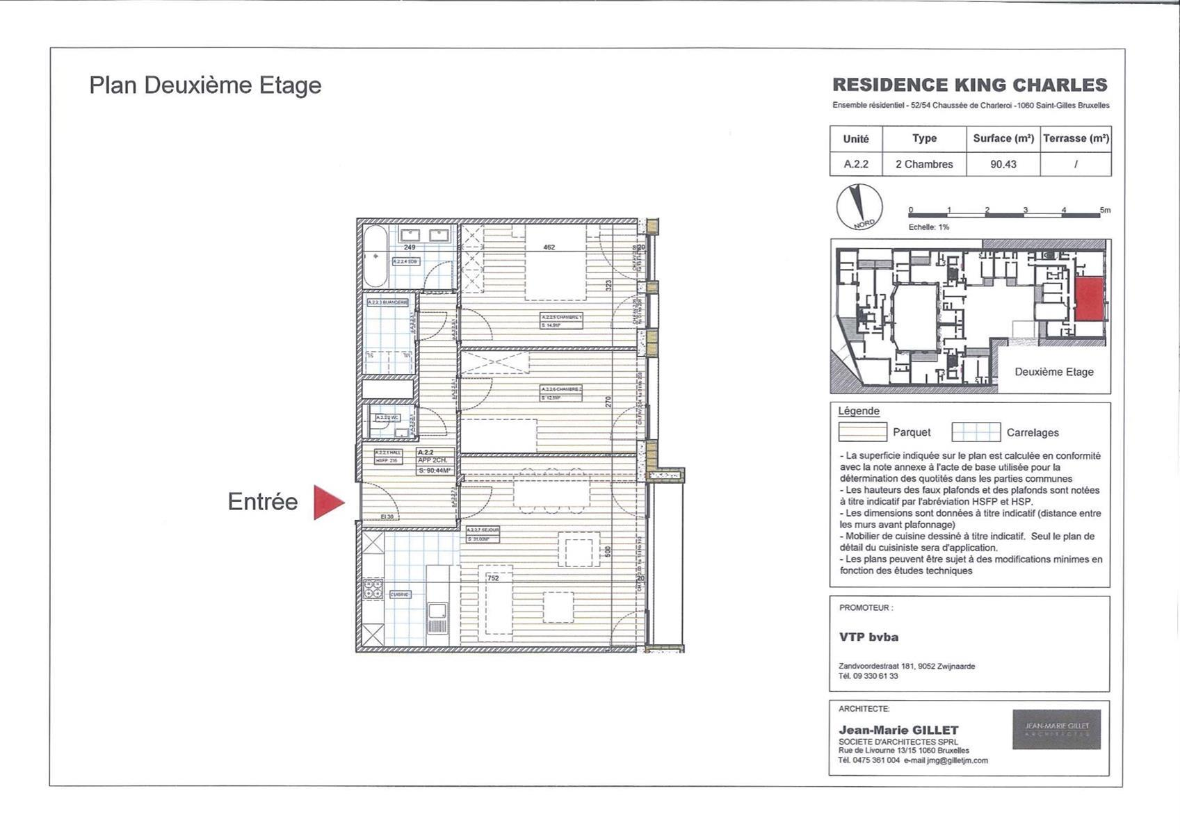 Appartement - Saint-Gilles - #3999455-0