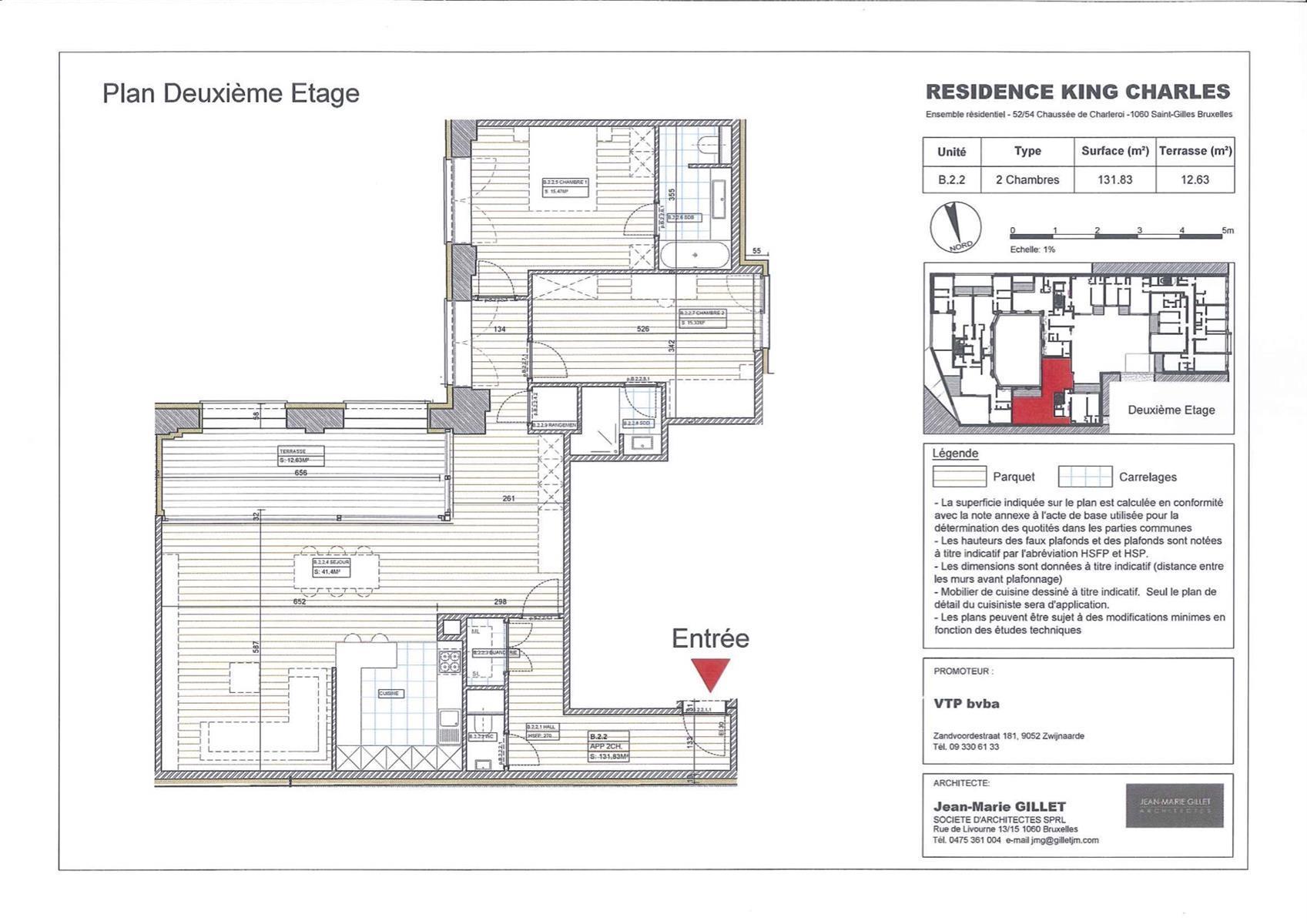 Appartement - Saint-Gilles - #3999458-0