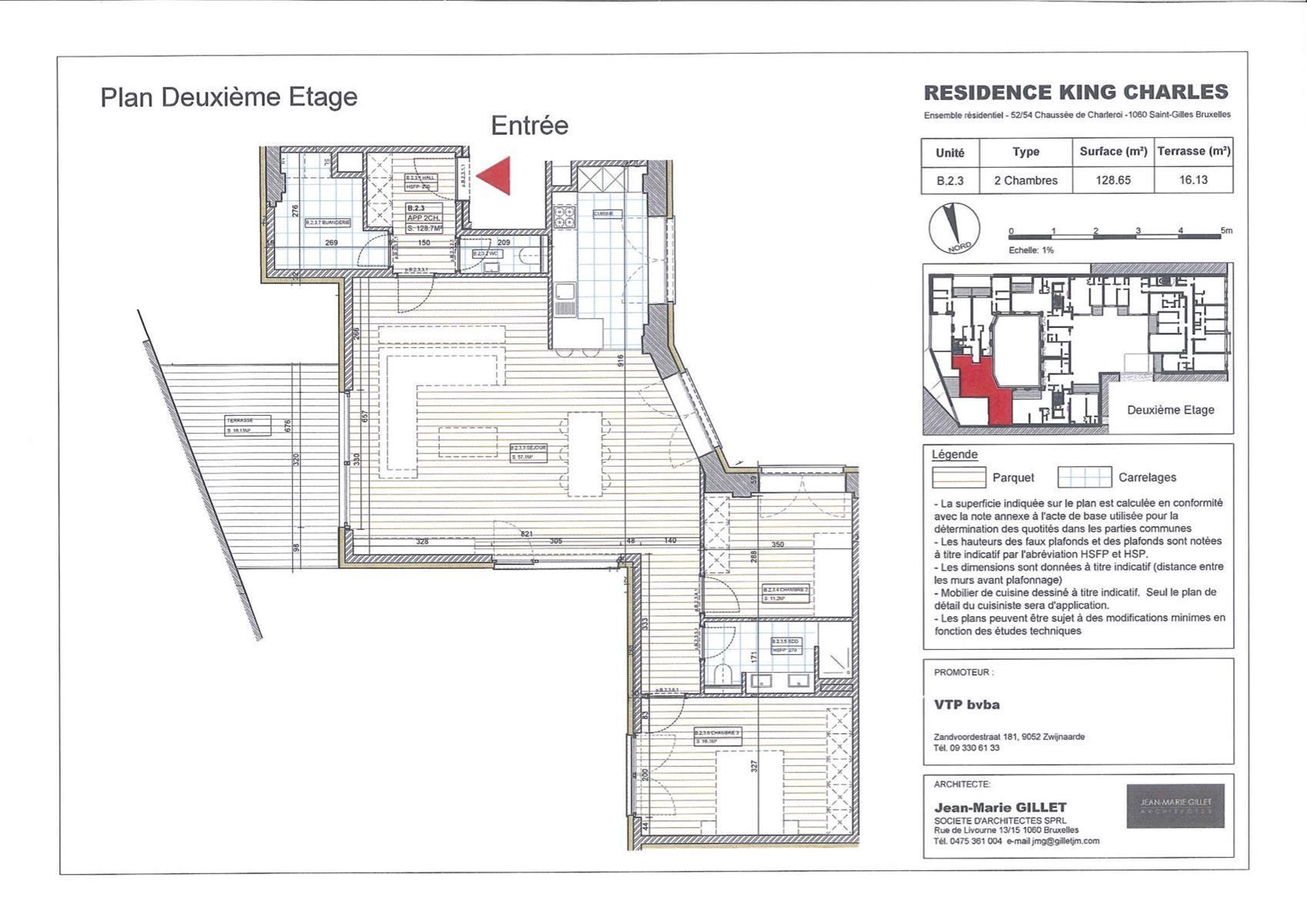 Appartement - Saint-Gilles - #3999459-0