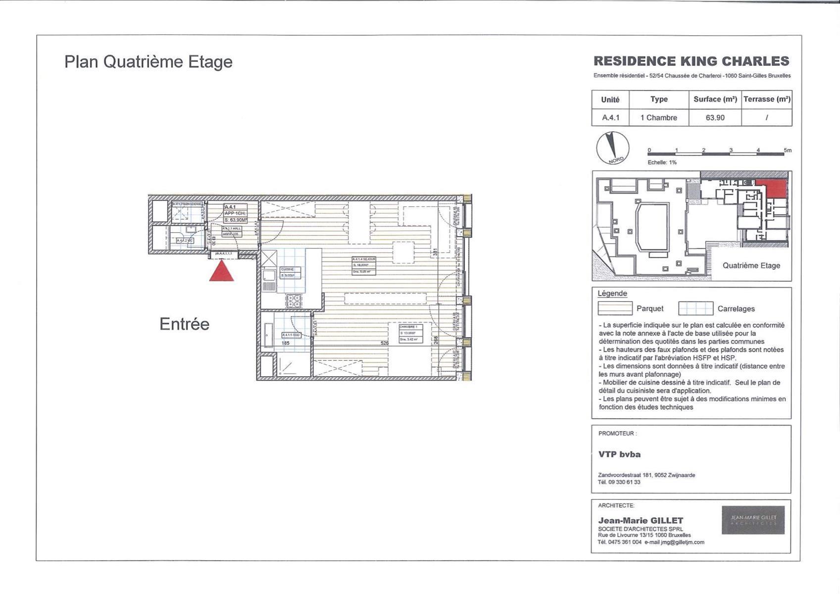 Appartement - Saint-Gilles - #3999464-0