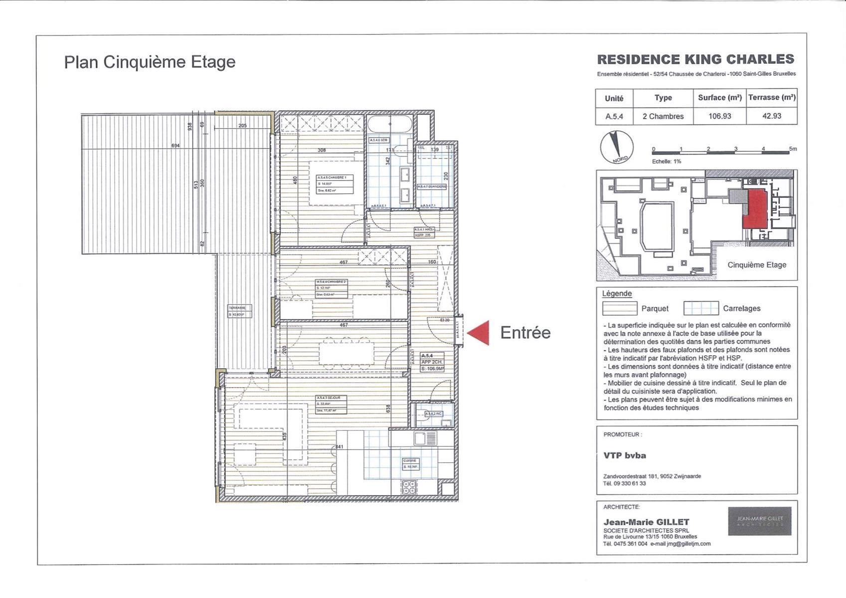 Appartement - Saint-Gilles - #3999469-0