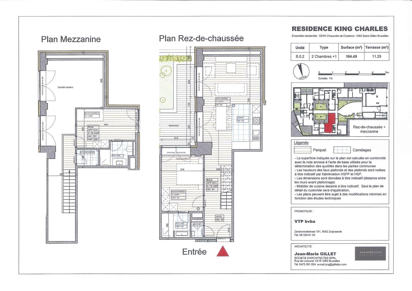 Ground floor - Saint-Gilles - #3999472-0